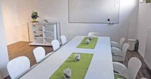 Für Seminare steht ein separater Raum zur Verfügung.Fotos: Gunhild Schulte-Hoppe